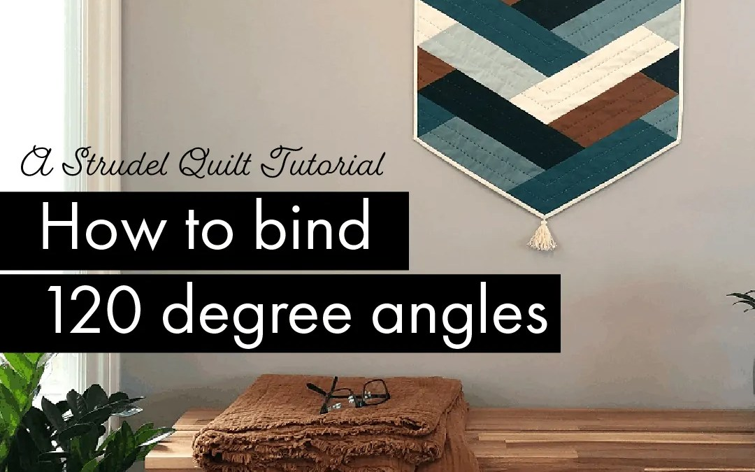 How to bind 120 degree angles