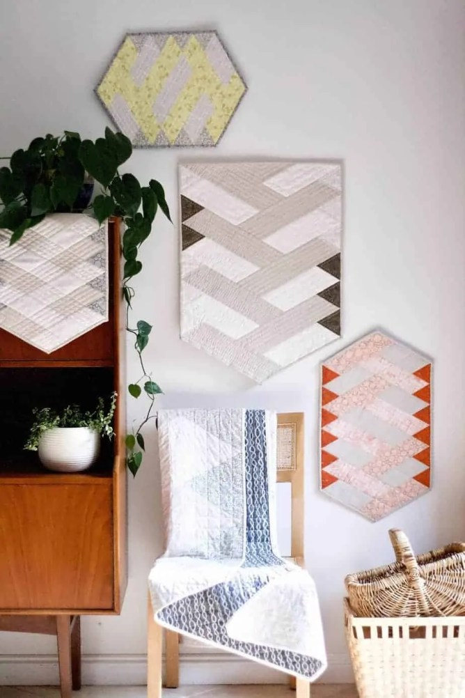 Wife-made Strudel Quilt Pattern