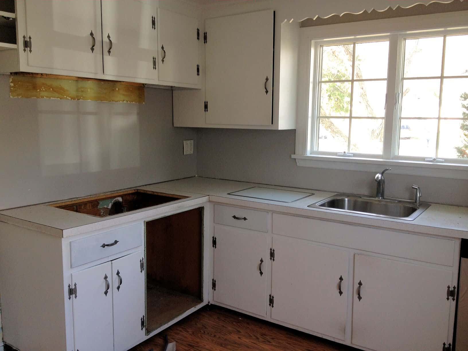 refacing kitchen cabinets before and after small remodel pictures cabinet the process