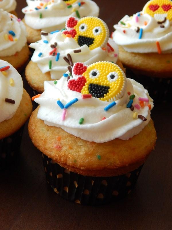 Emoji Birthday Cupcakes Walmart