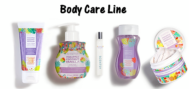 Scentsy Body Care line