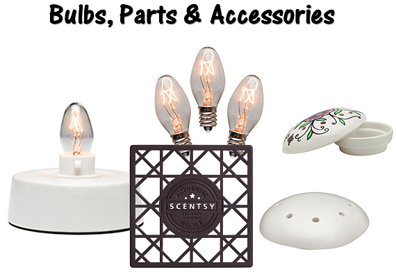 Scentsy bulbs, parts & accessories
