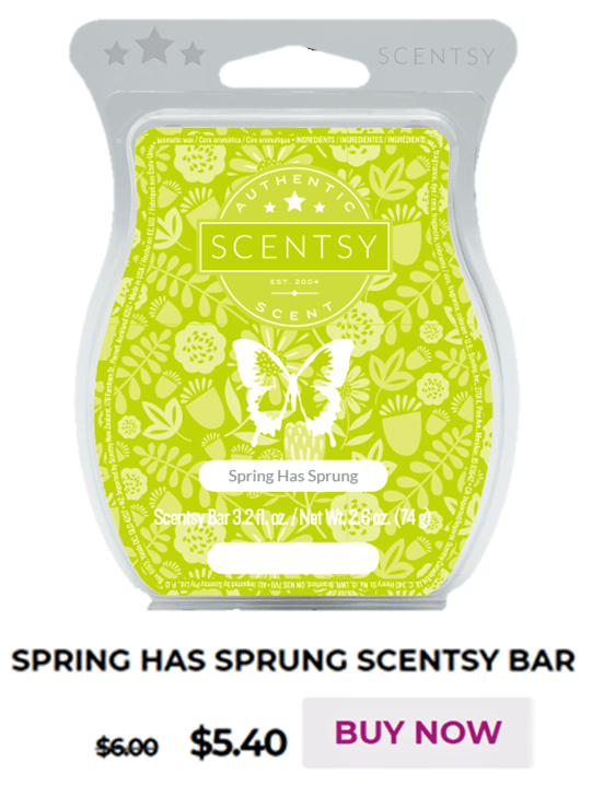 Scentsy Warmer Of The Month Eggs-press Yourself Warmer & Spring Has Sprung Scent for March 2020