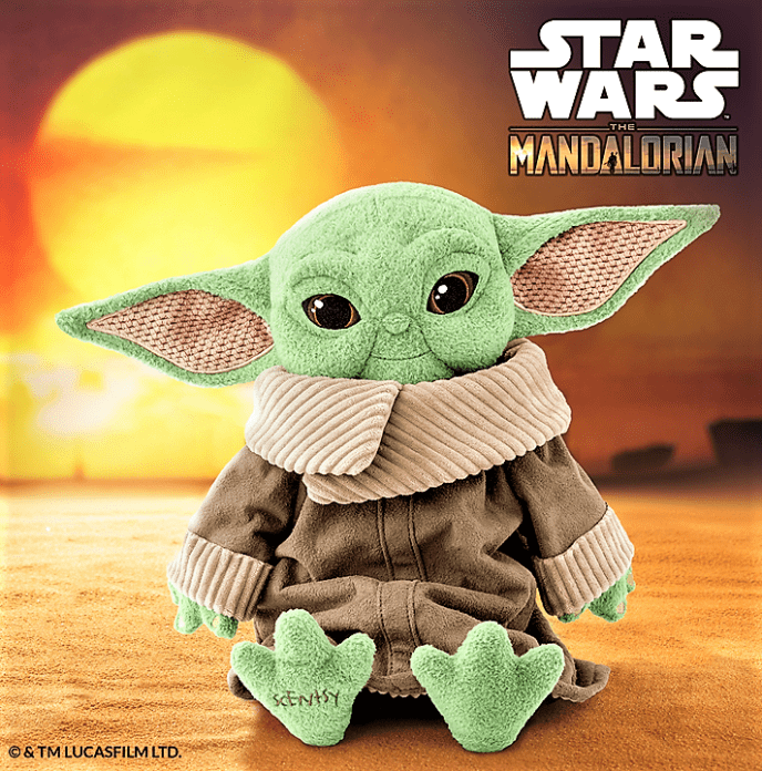 From The Mandalorian, The Child Scentsy Buddy