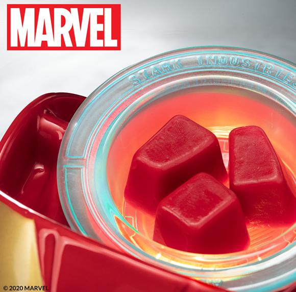 Scentsy Marvel Collection , Iron Man & Spiderman Warmer & Hulk Buddy