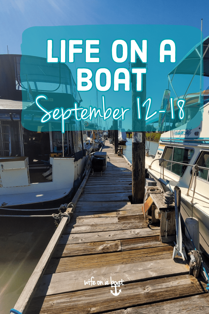 Life on a boat September 12