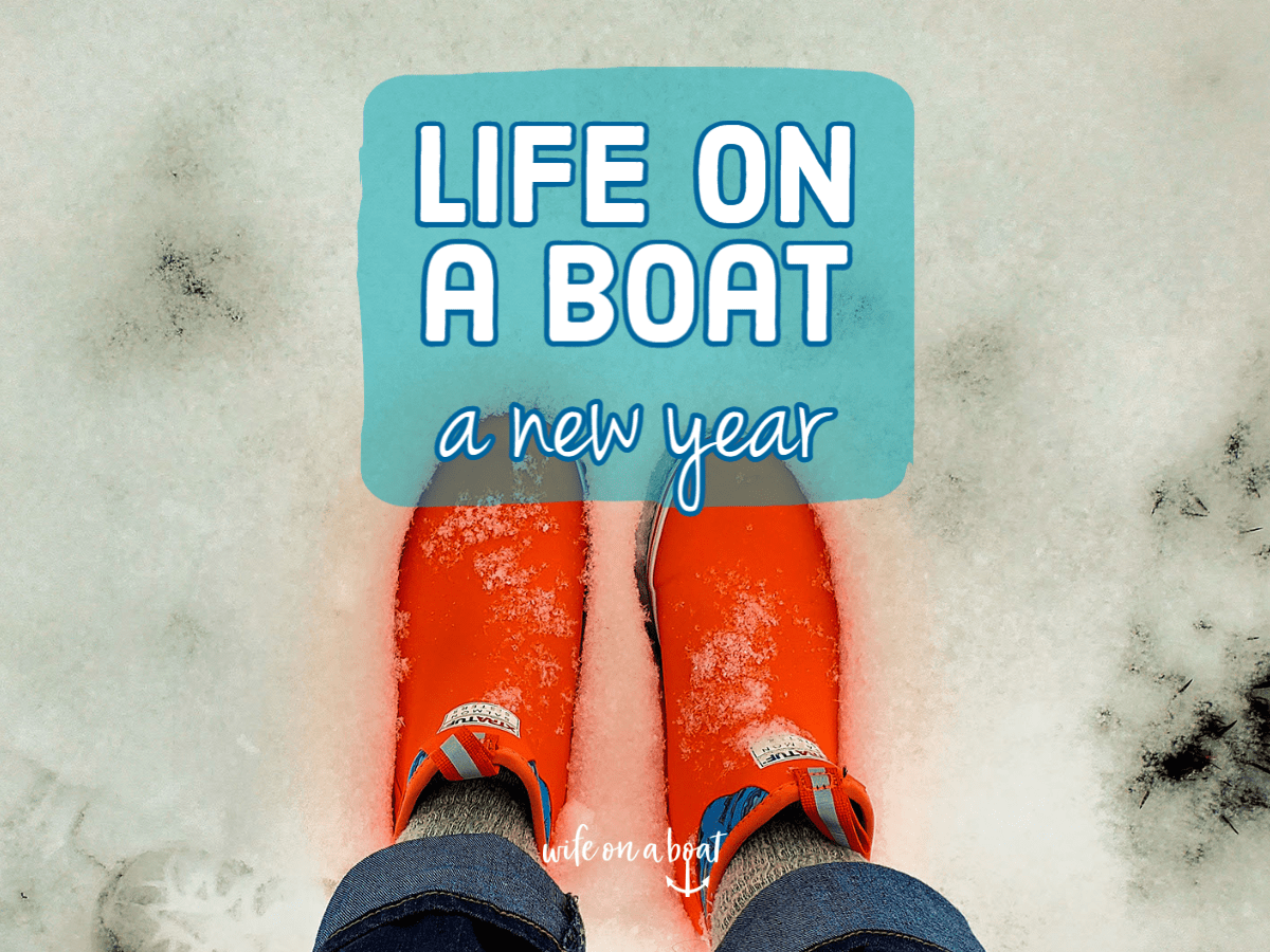 Life on a boat a new year