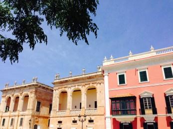 Colourful Cuitadella, Menorca