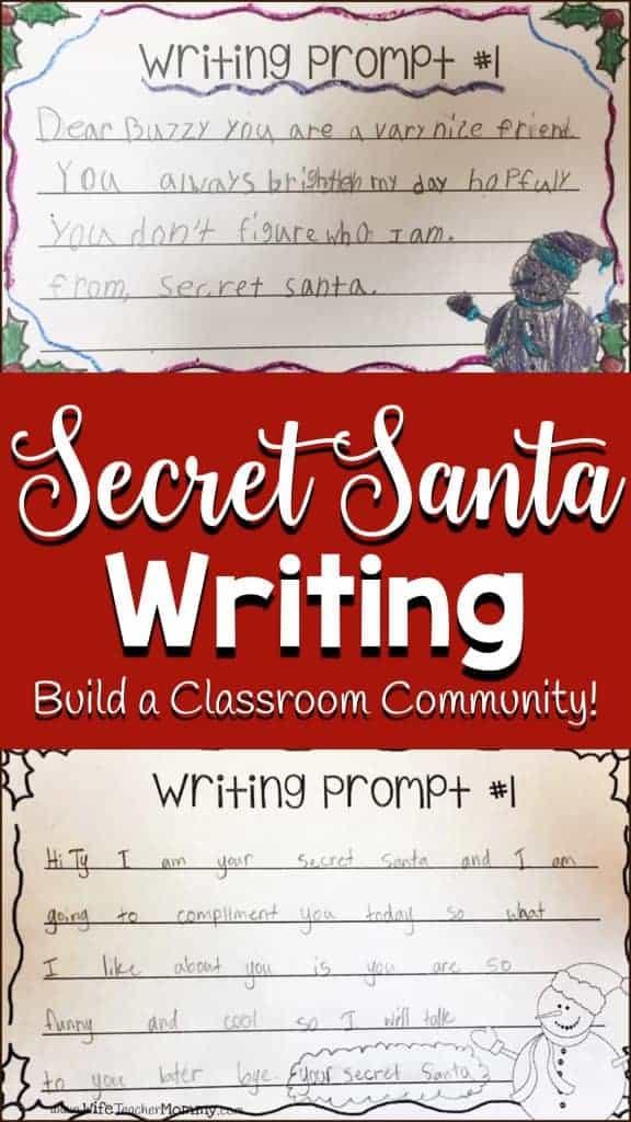 Secret Santa Writer's Workshop