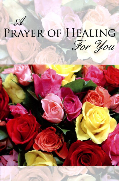 A prayer of healing for you