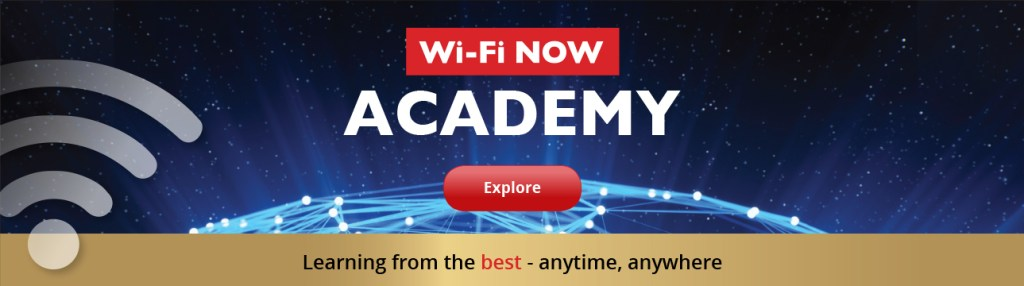 Wi fi NOW Academy - Wi-Fi training