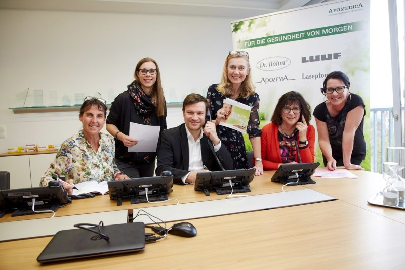 Telefontraining Apomedica, Testimonial, Wifi Steiermark,