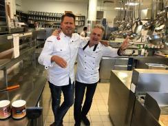 Mike Süsser und Peter Springer. Am WIFI startete die Ausnahmekarriere.