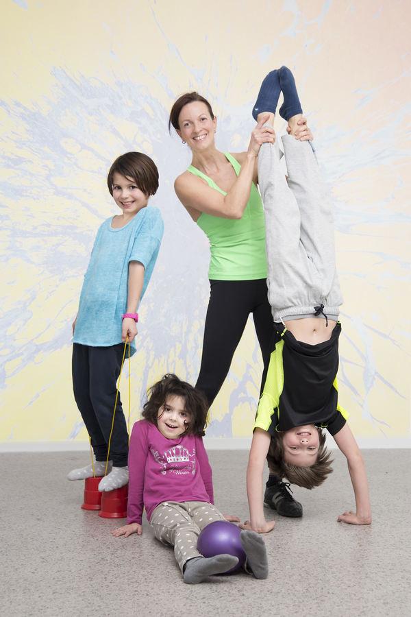WIFI Steiermark Kinderturnen Freude an Bewegung mit Sabrina Klopf