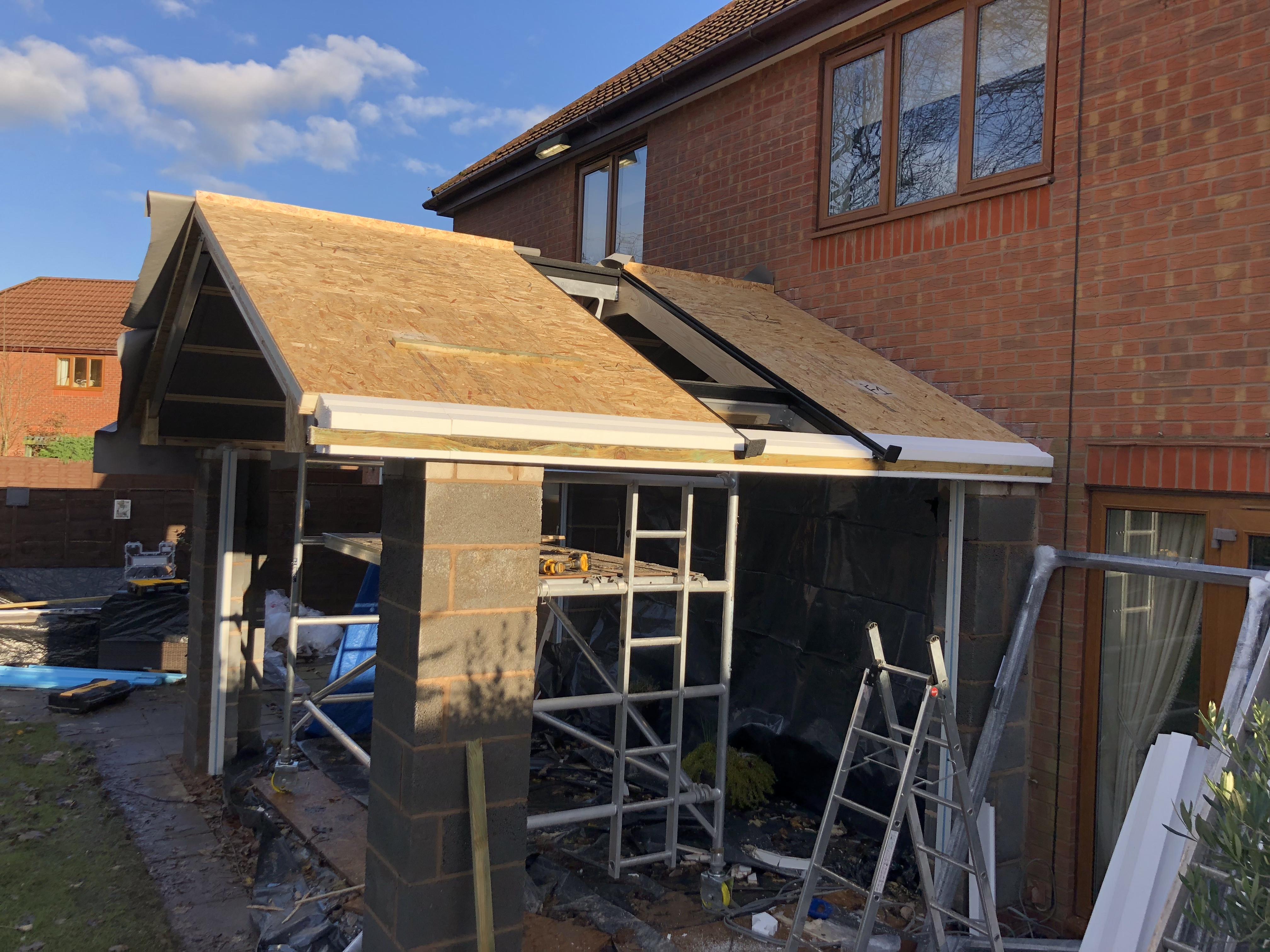 Warm Roof Hybrid Construction