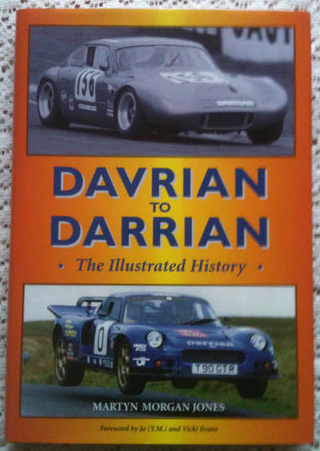 Davrian to Darrian The Illustrated history By Martyn Morgan Jones