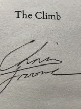 The Climb By Chris Foome – Signed Hardback Edition