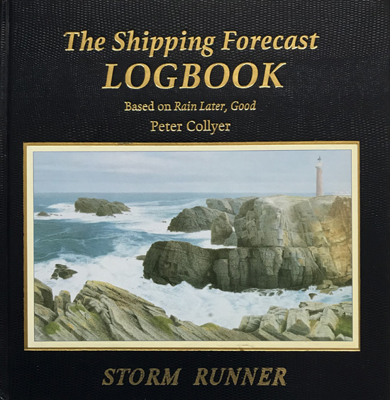 The Shipping Forecast Logbook By Peter Collyer