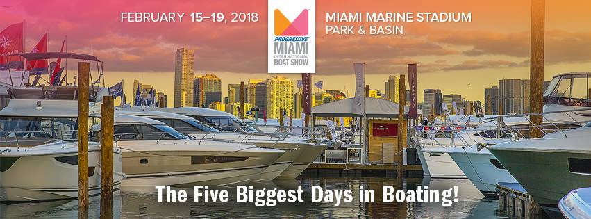 Join us at the Miami International Boat Show!