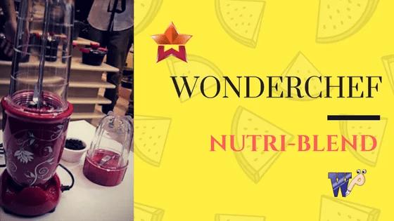 Wonderchef Nutri-blend