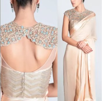 3046d82b3c4b Designer blouses not only add grace but also make you center of attraction.  There are different types of blouses available and according to your  choice