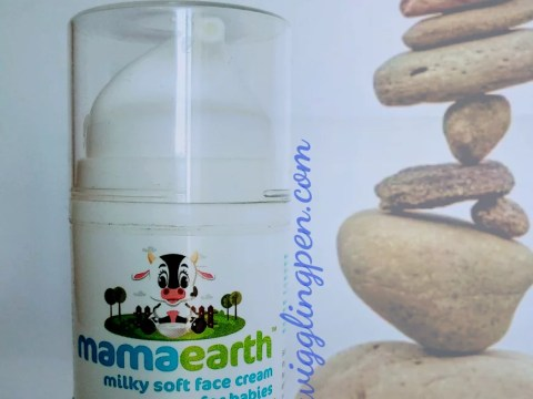 Be a protector of your baby with Mamaearth Milky soft face cream