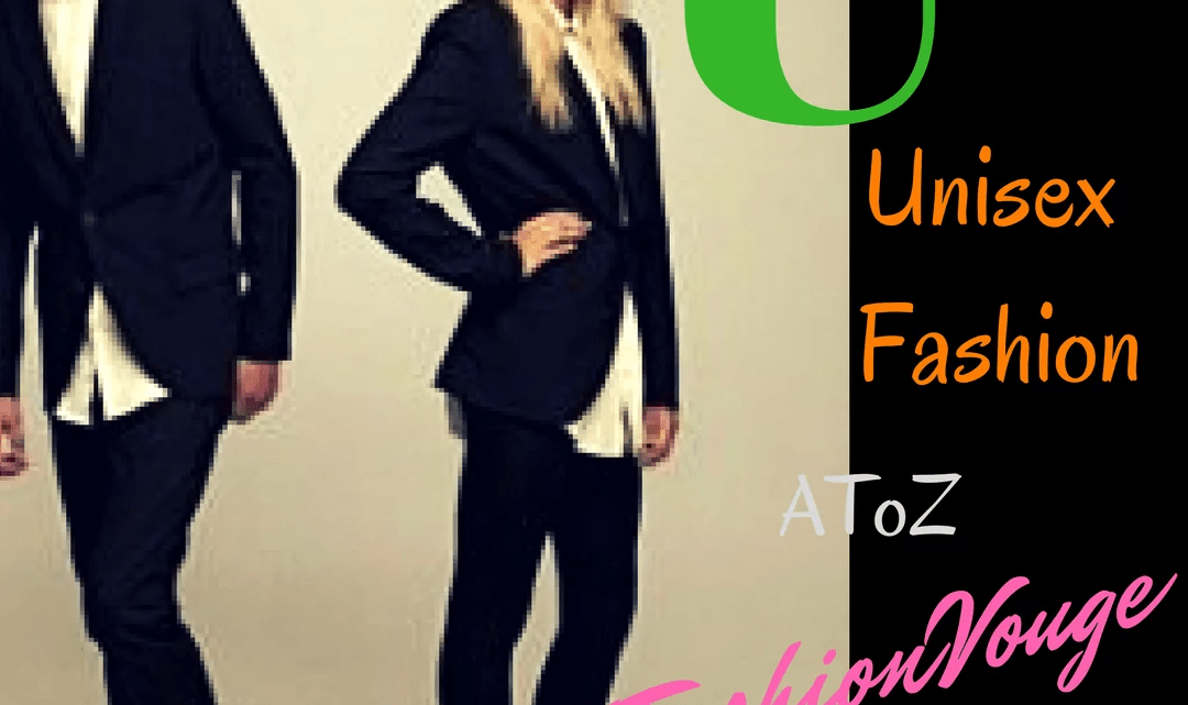 Unisex fashion, one for all just style and sparkle