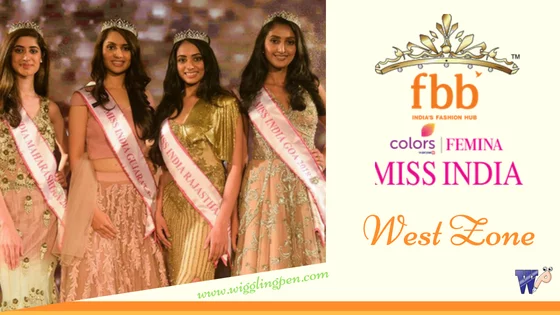 Miss India 2018 West Zone Winners