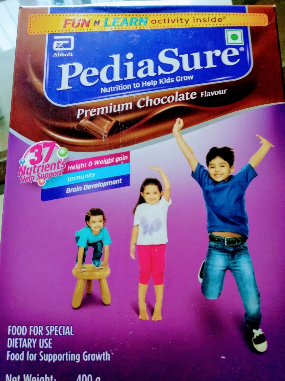 Cheers to #UnboxGrowth with PediaSure