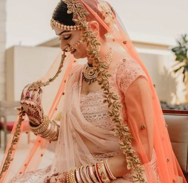 How To Choose A Color Style Of Your Double Dupatta In Bridal Lehenga