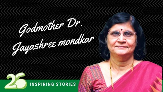 Godmother Dr. Jayashree Mondkar- Director of Human Milk Bank