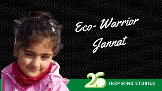 Eco Warrior- Jannat Mission Dal Lake