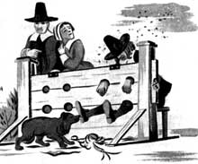 The Pillory and Other Punishments
