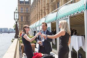 Ecoisland 100 club at the House of Commons
