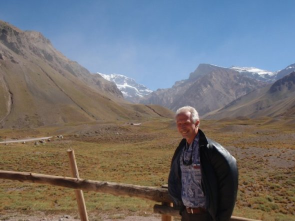 Peter in South America