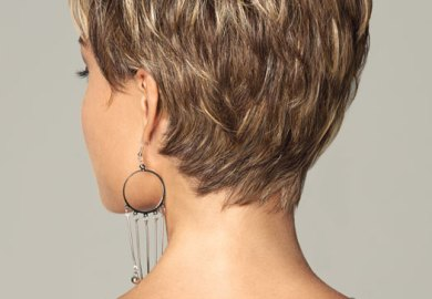 Haircut Nap Of Neck Feather Short Hairstyle