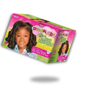 AFRICAN PRIDE DREAM KIDS OLIVE MIRACLE ANTI BREAKAGE NO LYE CREAM RELAXER SYSTEM