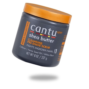 CANTU MENS COLLECTION CLEANSING PRE SHAVE SCRUB