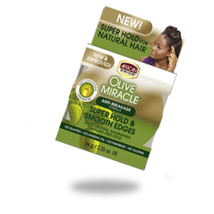African Pride Olive miracle super hold & smooth edges