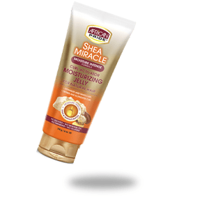 African Pride Shea miracle curl activator moisturizing jelly