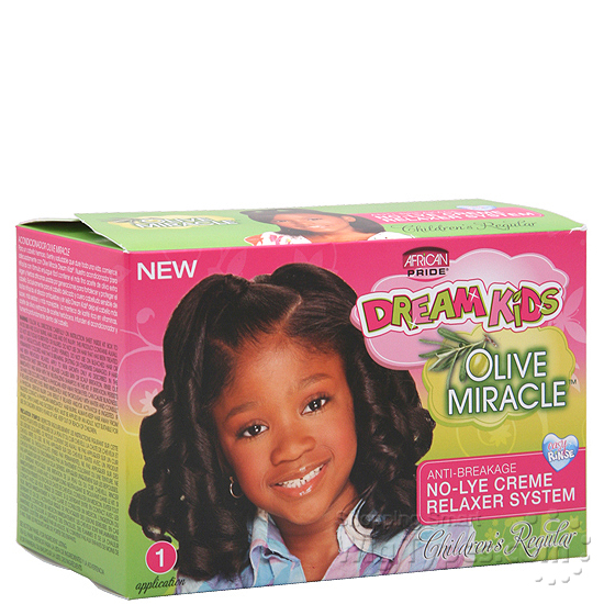 African Pride Dream Kids Olive Miracle NoLye Creme