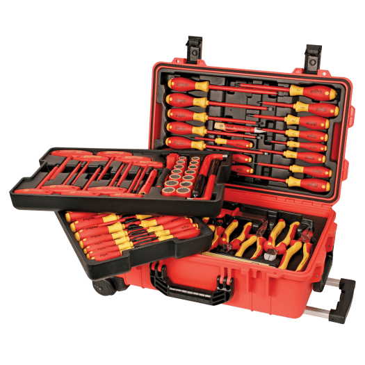 Tool Madness Winner 80 Piece Insulated Tool Set in Rolling Case from Wiha Tools