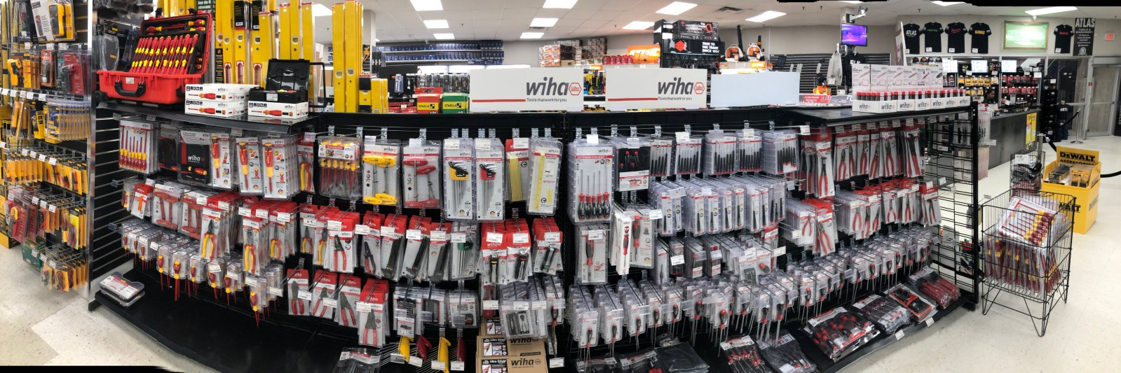 Wiha Tools Display at Atlas Machinery 2019