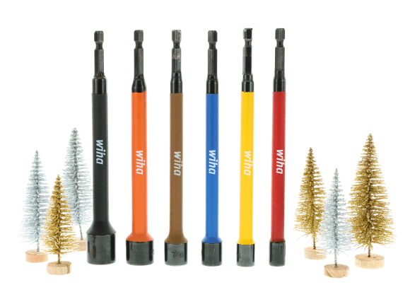 Color Coded Magnetic Nut Setters Stocking Stuffers 2019