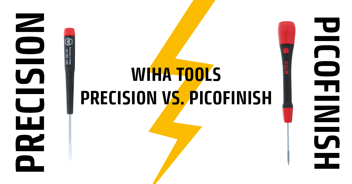 Precision vs. PicoFinish Cover Image Wiha Tools USA