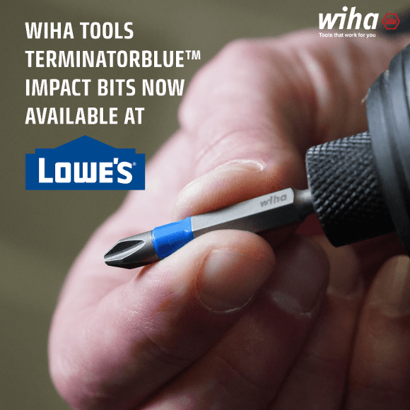 Wiha tools now available at Lowe's