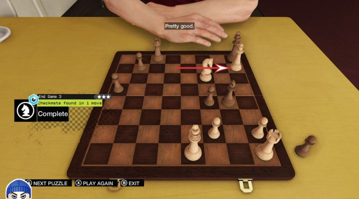 #Checkmate Level 3