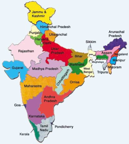 Image result for india map