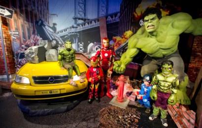 De échte Hulk arriveert in Madame Tussauds!