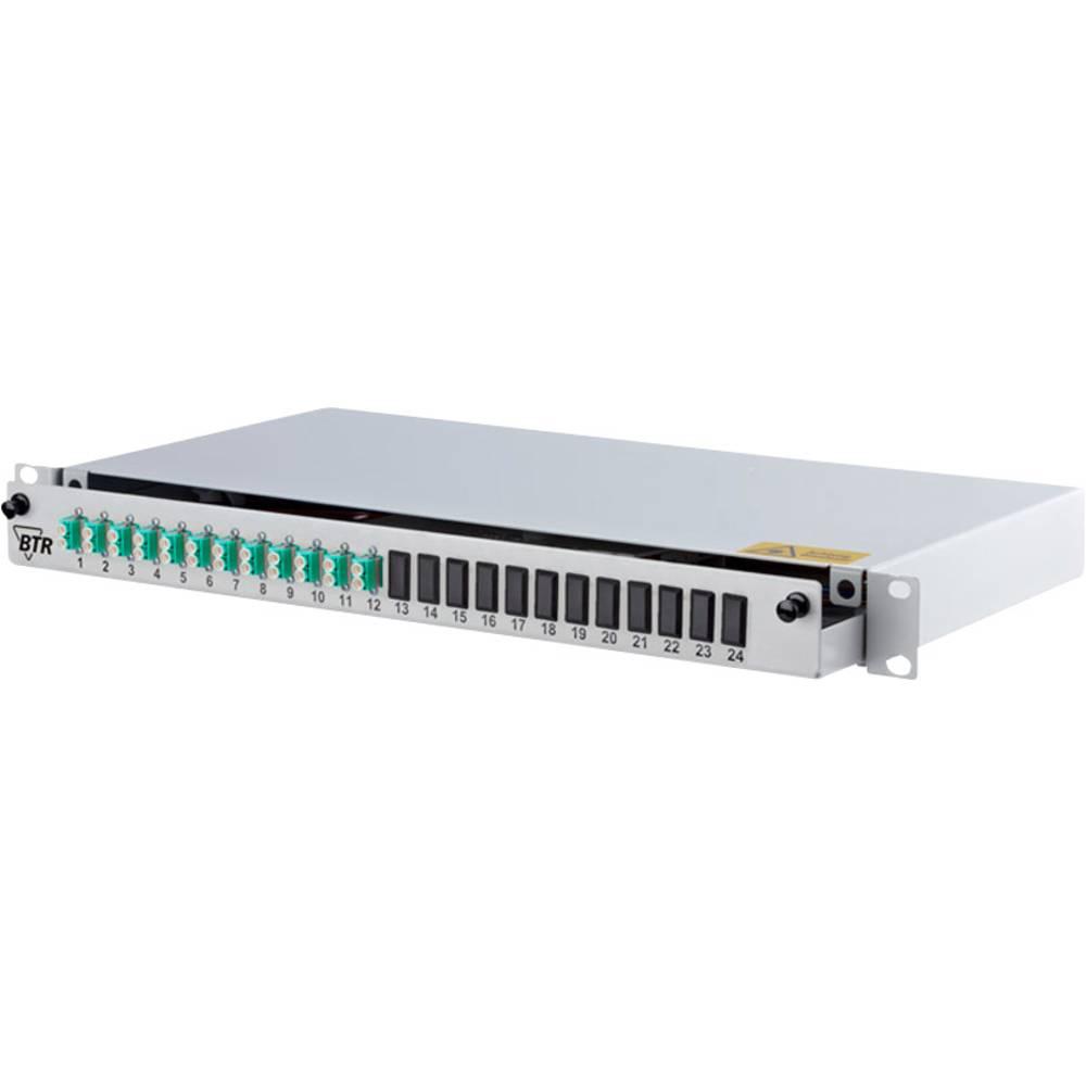 Glasvezel-patchpaneel 24 poorten LC-D Metz Connect 1502657712-E 1 HE